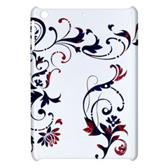 Scroll Border Swirls Abstract Apple Ipad Mini Hardshell Case by Nexatart