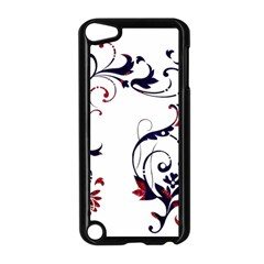 Scroll Border Swirls Abstract Apple Ipod Touch 5 Case (black)