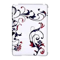 Scroll Border Swirls Abstract Apple Ipad Mini Hardshell Case (compatible With Smart Cover) by Nexatart