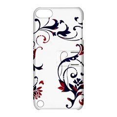 Scroll Border Swirls Abstract Apple Ipod Touch 5 Hardshell Case With Stand by Nexatart