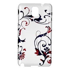 Scroll Border Swirls Abstract Samsung Galaxy Note 3 N9005 Hardshell Case by Nexatart