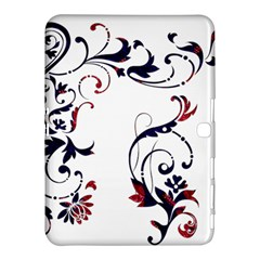 Scroll Border Swirls Abstract Samsung Galaxy Tab 4 (10 1 ) Hardshell Case