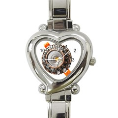 Lighting Commercial Lighting Heart Italian Charm Watch by Nexatart