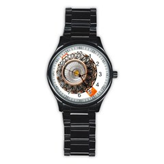 Lighting Commercial Lighting Stainless Steel Round Watch