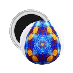 Easter Eggs Egg Blue Yellow 2 25  Magnets
