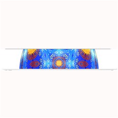 Easter Eggs Egg Blue Yellow Small Bar Mats by Nexatart