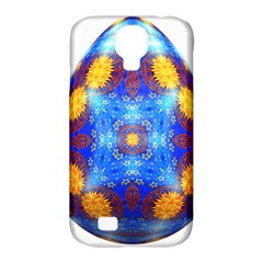 Easter Eggs Egg Blue Yellow Samsung Galaxy S4 Classic Hardshell Case (pc+silicone)