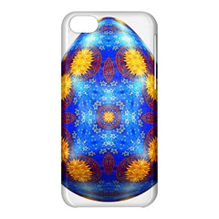 Easter Eggs Egg Blue Yellow Apple Iphone 5c Hardshell Case by Nexatart