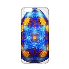 Easter Eggs Egg Blue Yellow Apple Iphone 6/6s Hardshell Case by Nexatart