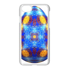 Easter Eggs Egg Blue Yellow Apple Iphone 7 Seamless Case (white) by Nexatart