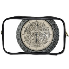 Clock Celtic Knot Time Celtic Knot Toiletries Bags 2 Side by Nexatart