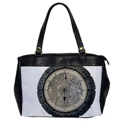 Clock Celtic Knot Time Celtic Knot Office Handbags by Nexatart