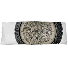 Clock Celtic Knot Time Celtic Knot Body Pillow Case Dakimakura (two Sides)