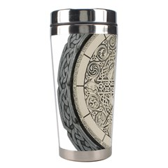 Clock Celtic Knot Time Celtic Knot Stainless Steel Travel Tumblers by Nexatart