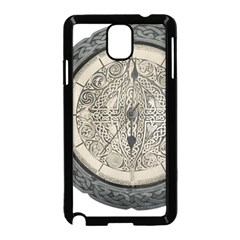 Clock Celtic Knot Time Celtic Knot Samsung Galaxy Note 3 Neo Hardshell Case (black)