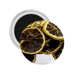 Lemon Dried Fruit Orange Isolated 2 25  Magnets