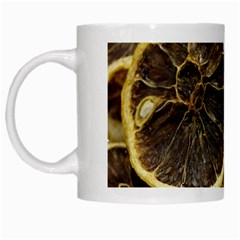 Lemon Dried Fruit Orange Isolated White Mugs by Nexatart