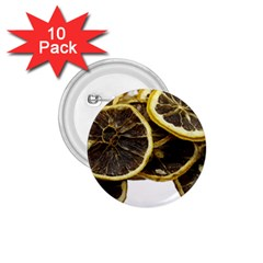 Lemon Dried Fruit Orange Isolated 1 75  Buttons (10 Pack) by Nexatart