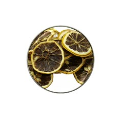 Lemon Dried Fruit Orange Isolated Hat Clip Ball Marker by Nexatart