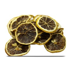 Lemon Dried Fruit Orange Isolated Plate Mats by Nexatart