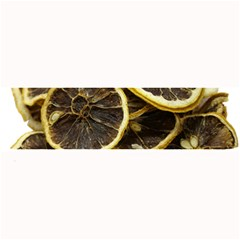 Lemon Dried Fruit Orange Isolated Large Bar Mats by Nexatart