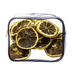 Lemon Dried Fruit Orange Isolated Mini Toiletries Bags by Nexatart