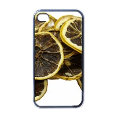 Lemon Dried Fruit Orange Isolated Apple Iphone 4 Case (black) by Nexatart