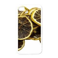 Lemon Dried Fruit Orange Isolated Apple Iphone 4 Case (white) by Nexatart