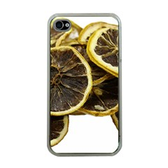 Lemon Dried Fruit Orange Isolated Apple Iphone 4 Case (clear) by Nexatart