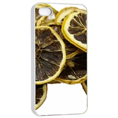 Lemon Dried Fruit Orange Isolated Apple Iphone 4/4s Seamless Case (white) by Nexatart