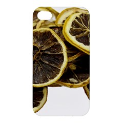 Lemon Dried Fruit Orange Isolated Apple Iphone 4/4s Premium Hardshell Case by Nexatart