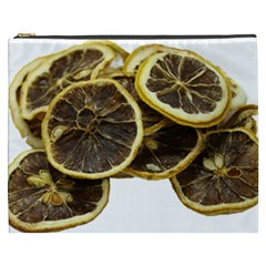 Lemon Dried Fruit Orange Isolated Cosmetic Bag (xxxl)