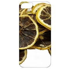 Lemon Dried Fruit Orange Isolated Apple Iphone 5 Classic Hardshell Case by Nexatart