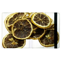 Lemon Dried Fruit Orange Isolated Apple Ipad 3/4 Flip Case by Nexatart