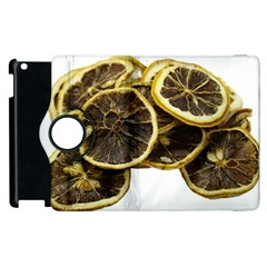 Lemon Dried Fruit Orange Isolated Apple Ipad 3/4 Flip 360 Case by Nexatart