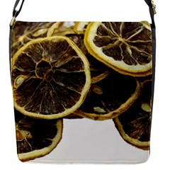 Lemon Dried Fruit Orange Isolated Flap Messenger Bag (s) by Nexatart