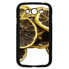 Lemon Dried Fruit Orange Isolated Samsung Galaxy Grand Duos I9082 Case (black)