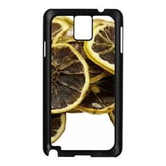 Lemon Dried Fruit Orange Isolated Samsung Galaxy Note 3 N9005 Case (black) by Nexatart