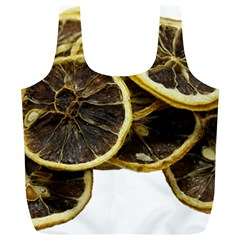 Lemon Dried Fruit Orange Isolated Full Print Recycle Bags (l)  by Nexatart