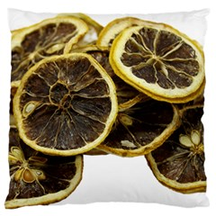 Lemon Dried Fruit Orange Isolated Standard Flano Cushion Case (one Side)