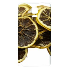 Lemon Dried Fruit Orange Isolated Galaxy Note 4 Back Case