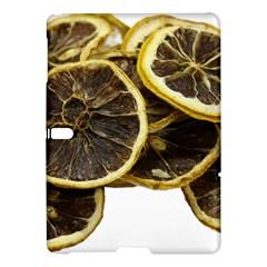 Lemon Dried Fruit Orange Isolated Samsung Galaxy Tab S (10 5 ) Hardshell Case