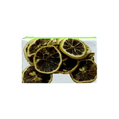 Lemon Dried Fruit Orange Isolated Cosmetic Bag (xs) by Nexatart