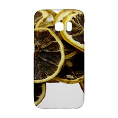 Lemon Dried Fruit Orange Isolated Galaxy S6 Edge by Nexatart