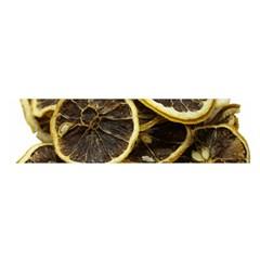 Lemon Dried Fruit Orange Isolated Satin Scarf (oblong) by Nexatart