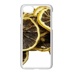 Lemon Dried Fruit Orange Isolated Apple Iphone 7 Seamless Case (white) by Nexatart