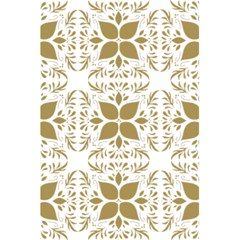 Pattern Gold Floral Texture Design 5 5  X 8 5  Notebooks by Nexatart