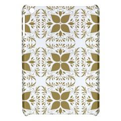 Pattern Gold Floral Texture Design Apple Ipad Mini Hardshell Case by Nexatart