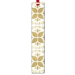 Pattern Gold Floral Texture Design Large Book Marks by Nexatart