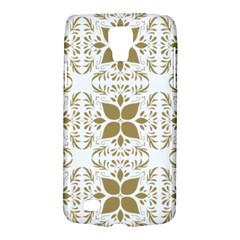Pattern Gold Floral Texture Design Galaxy S4 Active by Nexatart
